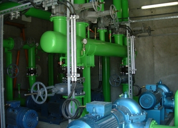 Managing water distribution in the plant